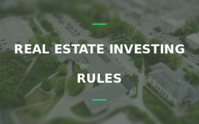 real estate investing rules