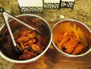 Mixed Honey BBQ and Mild