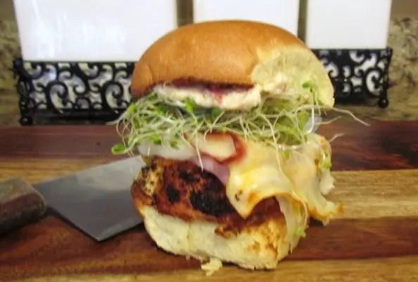 Chicken Cordon Bleu Sandwich