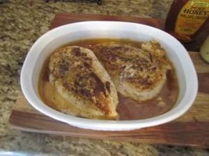 baked seasoned chicken