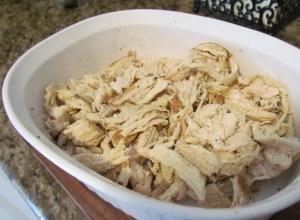 pulled chicken