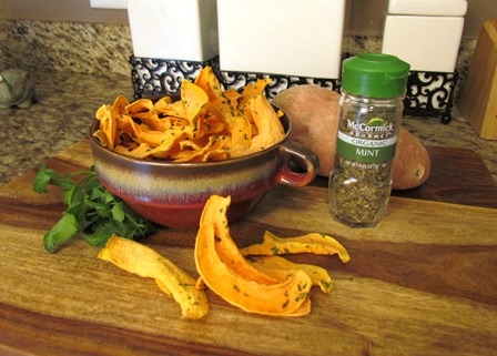 Sweet Potato Mint Dog Treats