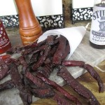 Sriracha Salmon Jerky, From Chef To Home