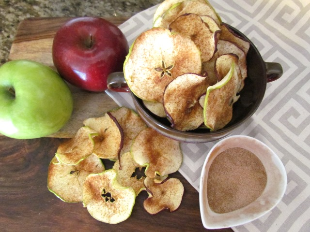Homemade Cinnamon Apple Chips