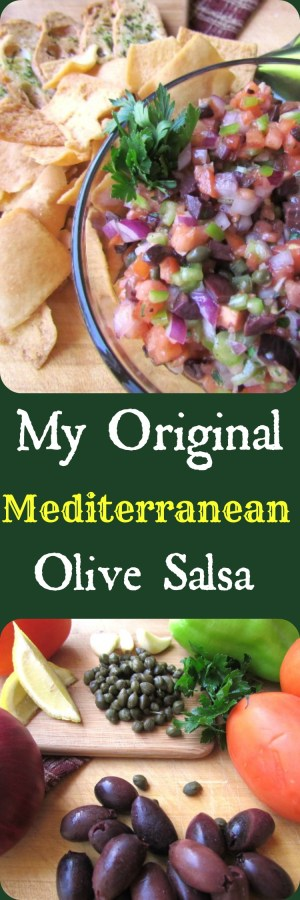 Olive Salsa, From Chef To Home