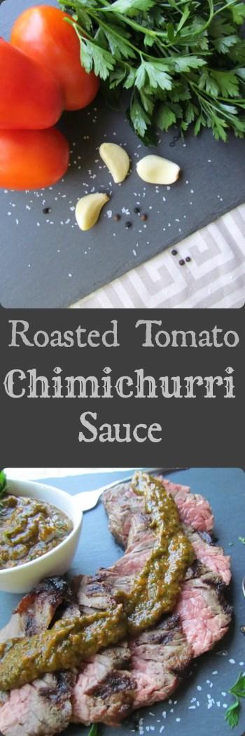 Tomato Chimichurri Sauce
