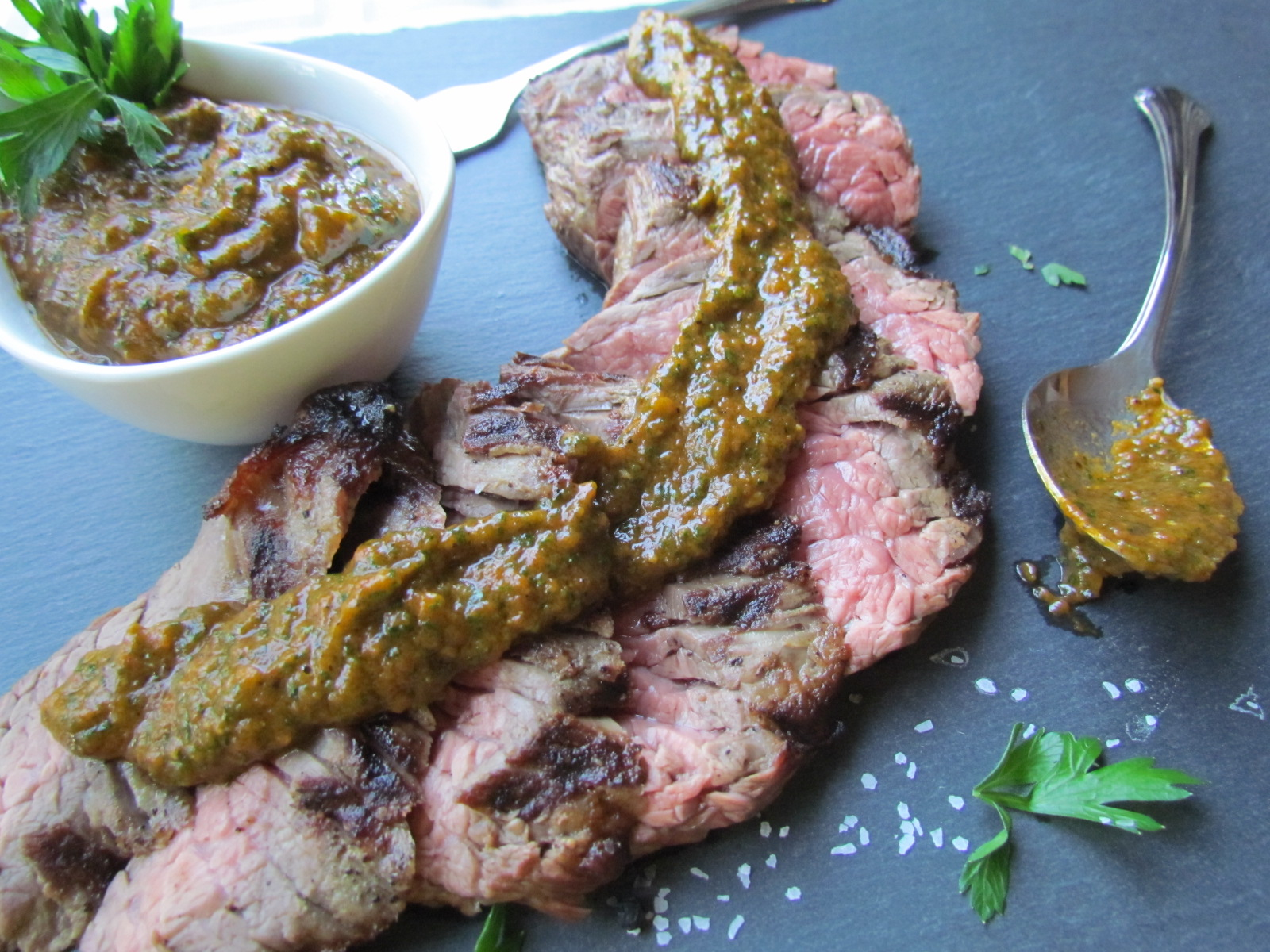 Roasted Tomato Chimichurri Sauce