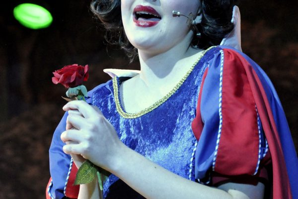 Snow White performing in FMTC production