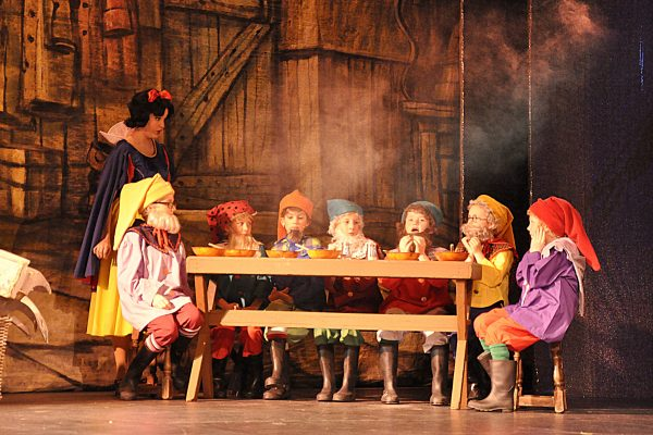 Snow White and the Seven Dwarfs FMTC 2016 pantomine