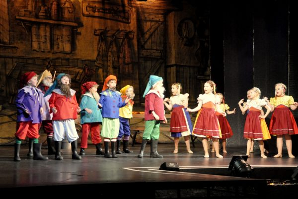 Snow White pantomine by Frome Musical Theatre Company