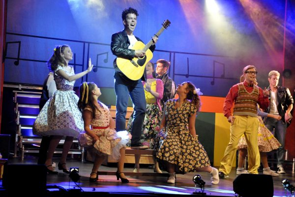 Theatre production of Grease in Frome