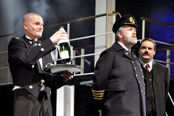 Titanic production in Frome