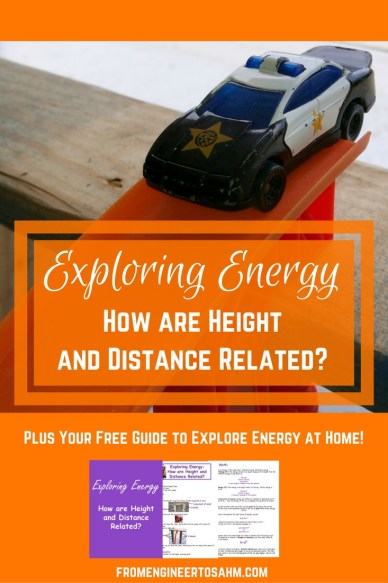 Energy Experiment for kids | Kinetic and Potential Energy Experiment using Toy Cars!