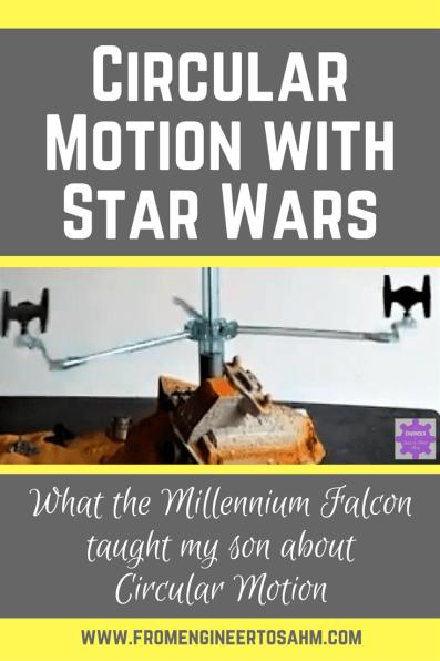 Circular Motion | Circular Motion lesson using my son's Star Wars | Circular Motion Activities
