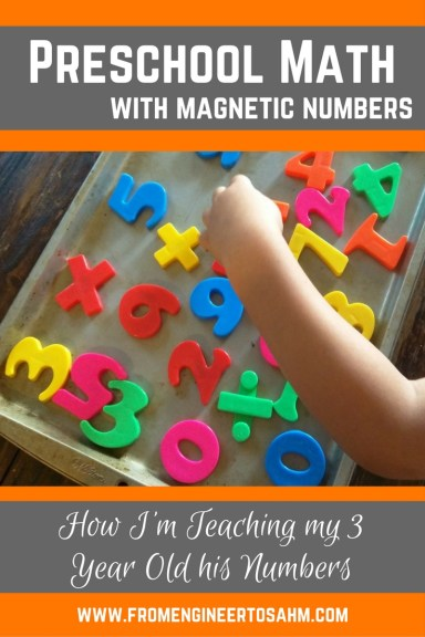 Preschool Math | Number Recognition | A simple game to teach number recognition