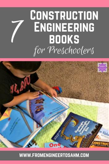 STEM Books for Kids | 7 Construction Engineering Books for Kids!