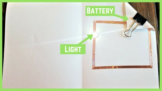 Circuit Card Ideas | Light Up Card Using a Simple Circuit | Valentine's Day Cards