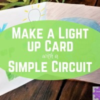 Make a Light up Card with a Simple Circuit!