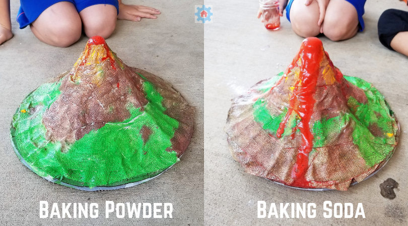 Try this Volcano Experiment for a STEAM activity and Chemistry Experiment in one!