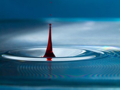 Colorful Water Drop
