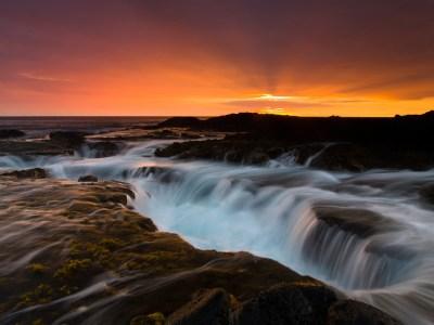 Keahole Point Sunset
