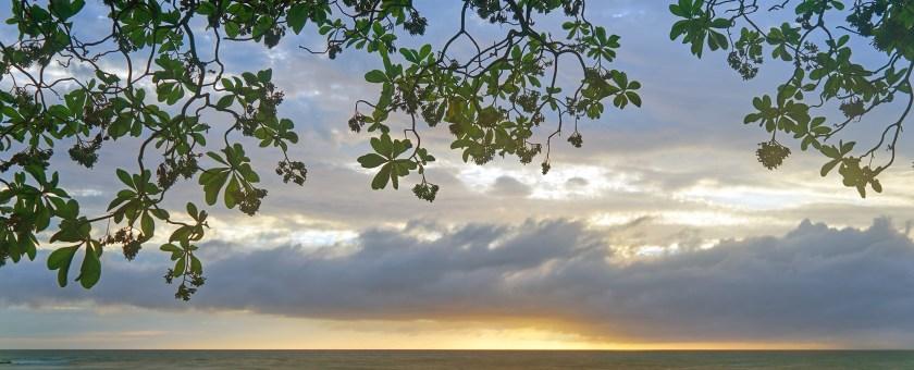 Image of a beautiful Kona sunset