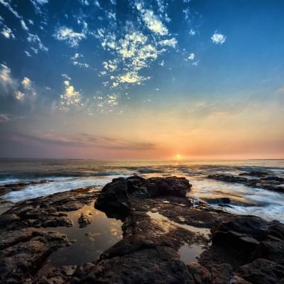 Hawaiian Sunset in April