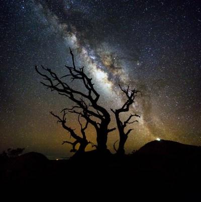 Mauna Kea Milky Way Silhouette