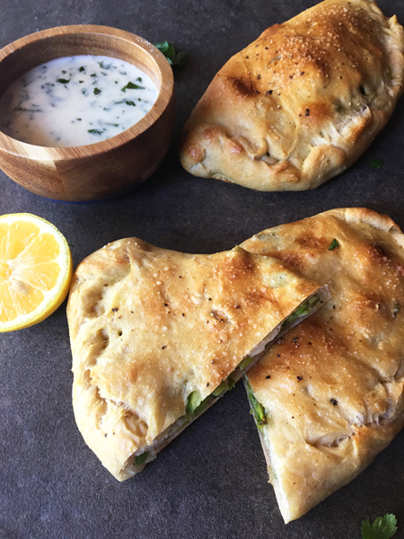 Simple Asparagus Calzones