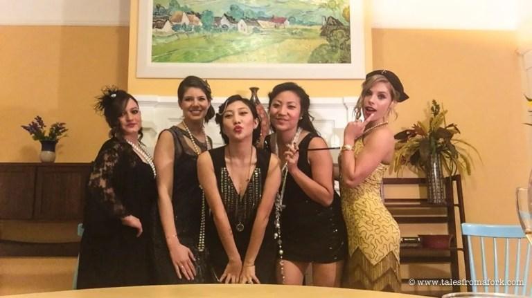 bachelorette party 20s theme savannah georgia