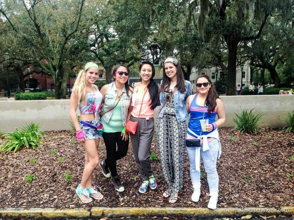 how to have the best bachelorette party in savannah