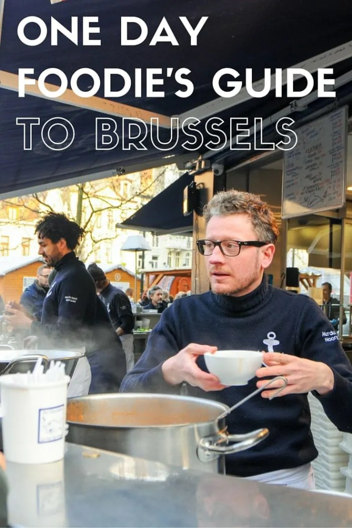 One Day Foodie's Guide to Brussels