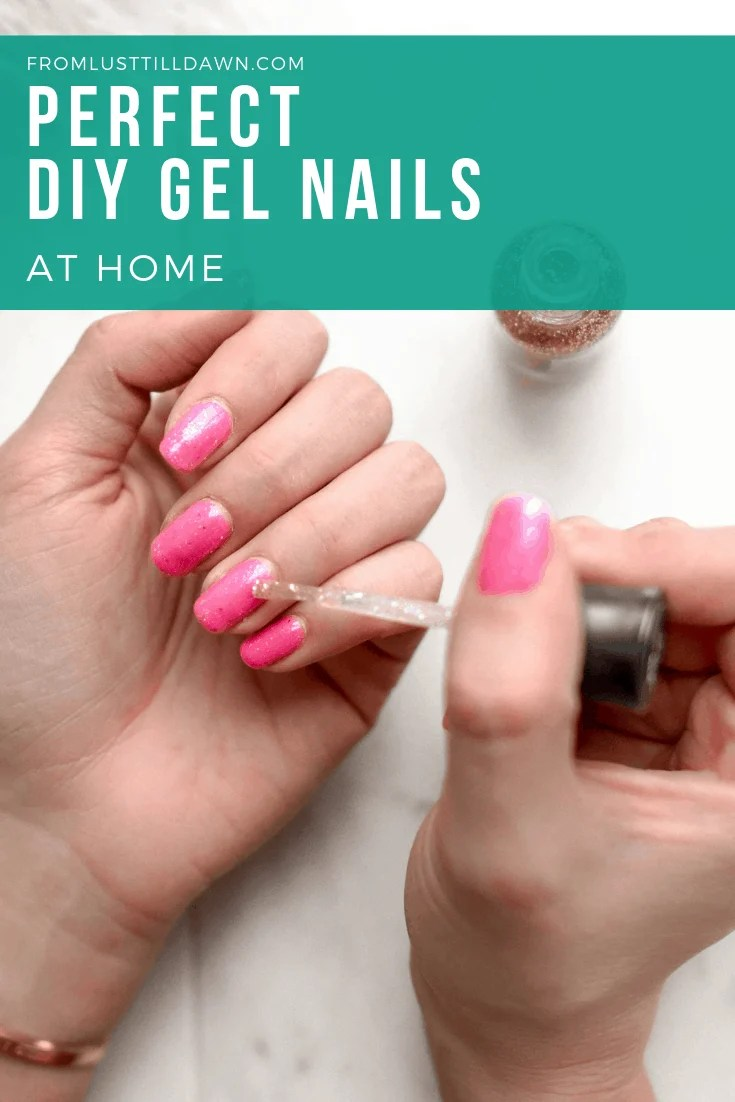 DIY At-Home Gel Nail Manicure for Beautiful, Budget Vacation Nails ...