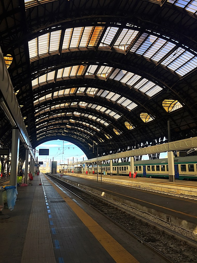 In and out of Milano through this beautiful train station!