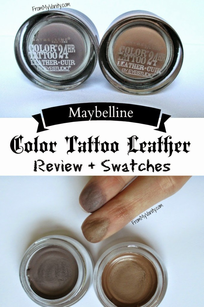 Maybelline Color Tattoo Leather Collection Is It Worth