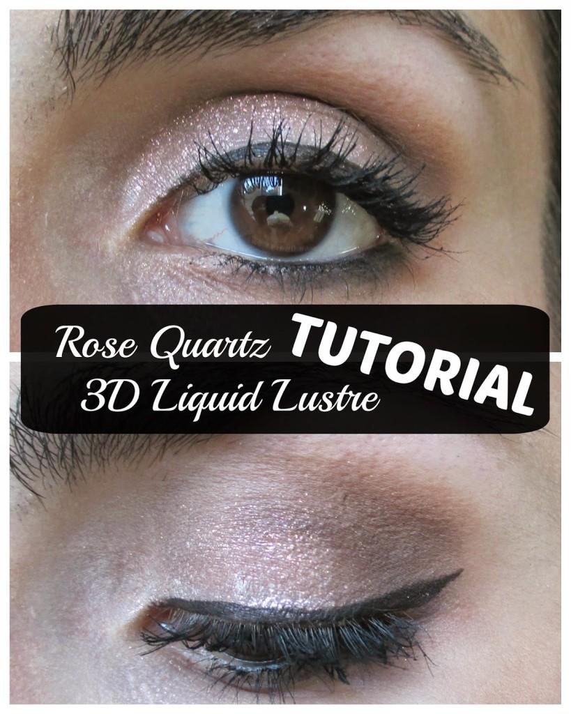 An easy eye look featuring loracs 3d liquid lustre tutorial easy pink 3d liquid lustre eyeshadow tutorial baditri Gallery