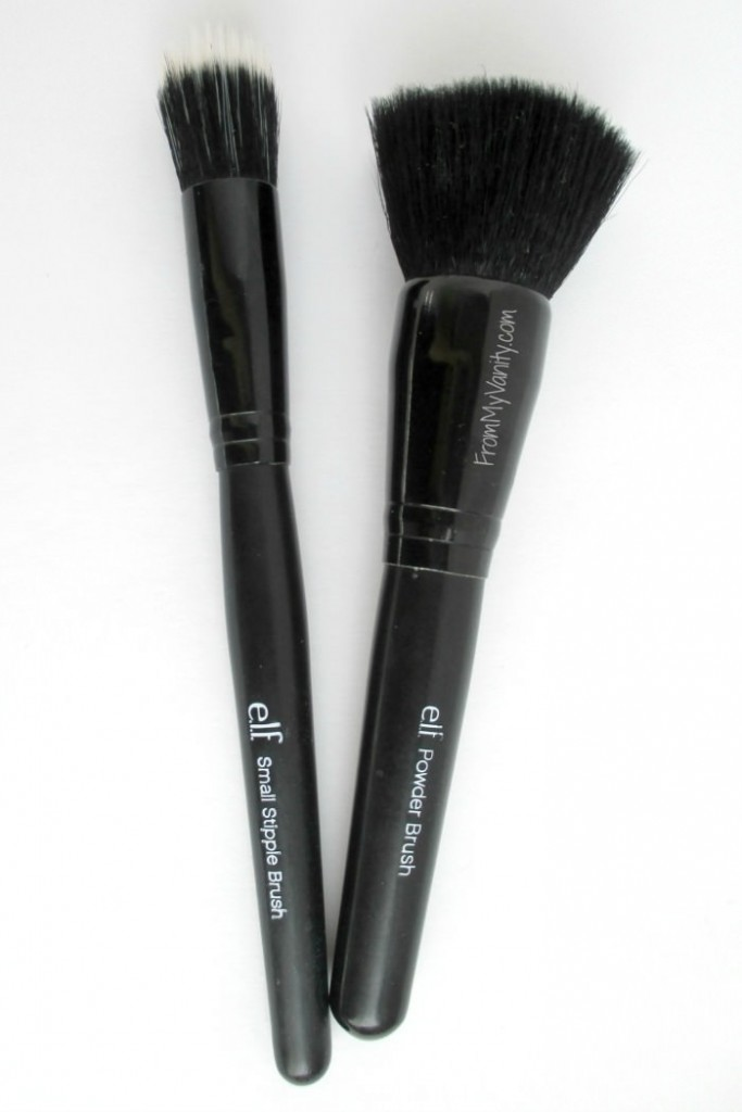 ELF brushes are affordable and many are really good -- especially these two!