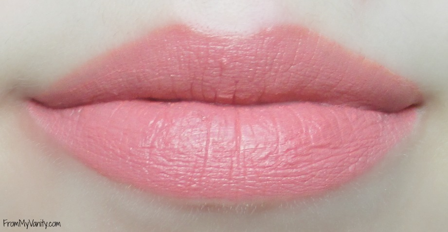 Top 5 Nude Lips for Light Medium Skintone // NYX Soft Matte Lip Cream in Stolkholm // FromMyVanity.com