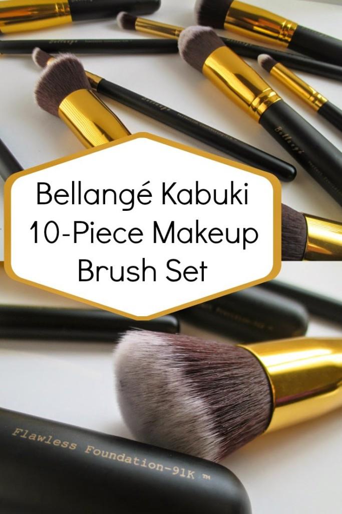 Bellange Kabuki 10-Piece Makeup Brush Set Review - From My Vanity
