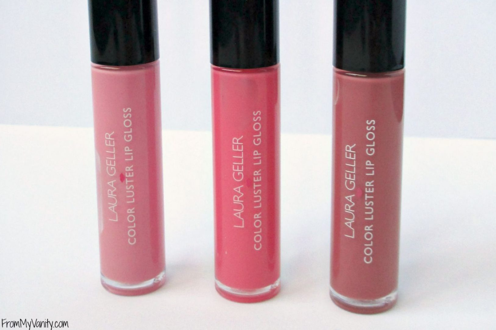 Laura Geller Color Luster Lip Glosses // Trio // From My Vanity