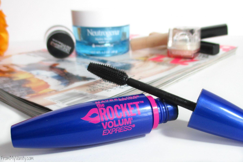 Favorite Drugstore Beauty Buys // Maybelline the Rocket Volum' Express // Elle Sees & From My Vanity