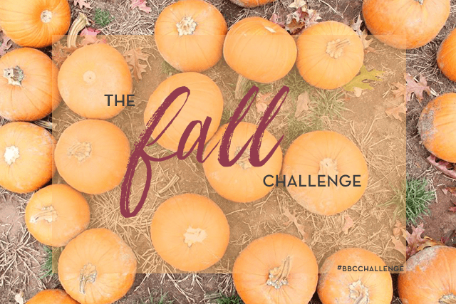 Beauty Blog Coalition Fall Challenge!