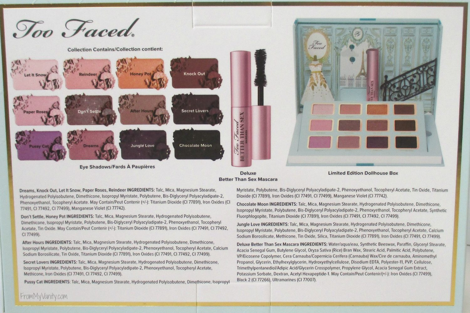 Too Faced La Petite Maison (Ulta Exclusive) Review & Swatches