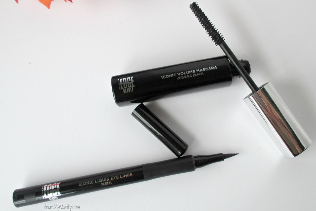 One Brand Tutorial & Review // The EDGE Beauty // Mascara & Eyeliner // #edgebeauty #ladykaty92 FromMyVanity.com