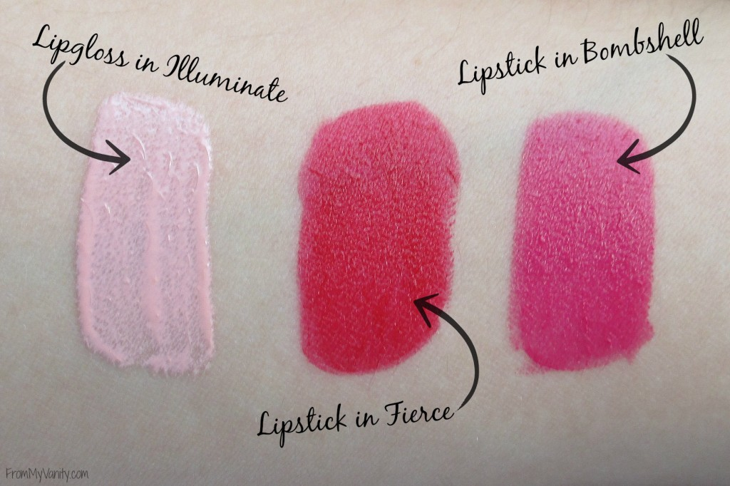 One Brand Tutorial & Review // The EDGE Beauty // Lipgloss & lipstick swatches // #edgebeauty #ladykaty92 FromMyVanity.com
