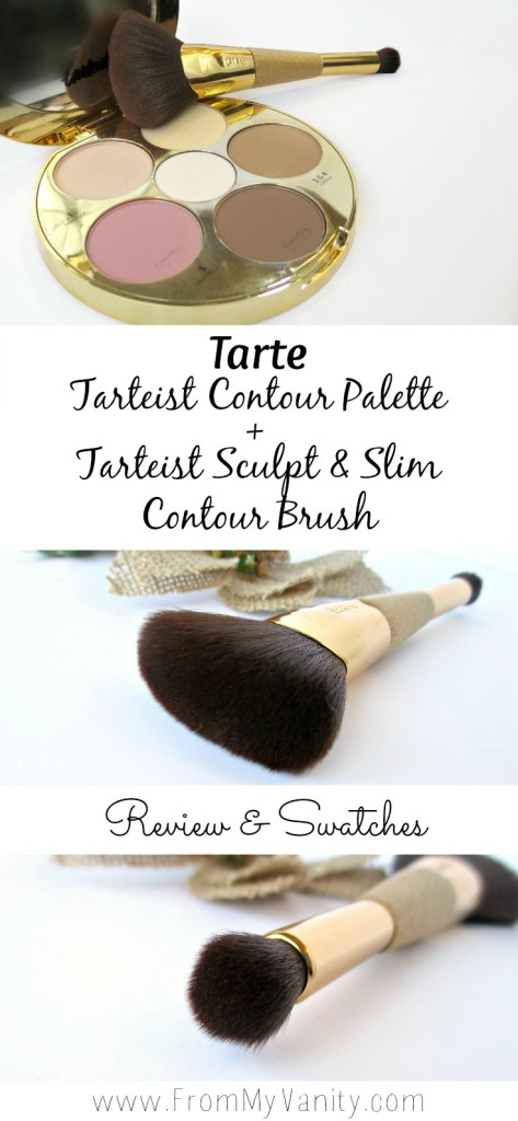 It seems like every brand is coming out with their own take on a contour palette, and Tarte is no exception with their new Tarteist Contour Palette. They even released a dual-ended brush to pair with their new palette. @LadyKaty92