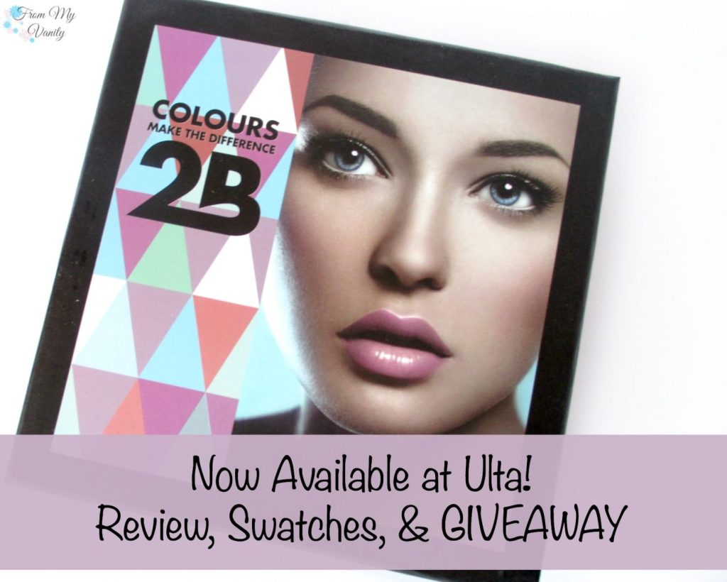 2B Colours // European Cosmetic Company that's now available at Ulta! // FromMyVanity.com #makeup