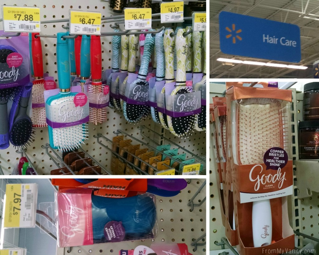 Quick Hairstyles for Busy Moms // Goody Brushes // Walmart Shopping // FromMyVanity.com #goody #hairstyles