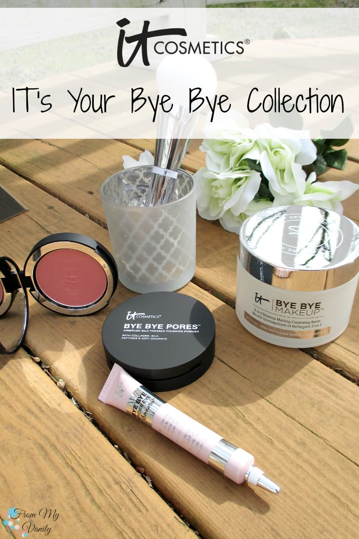 This collection has me saying 'bye bye' to all my pore problems! | New IT Cosmetics QVC TSV, IT's Your Bye Bye Collection!