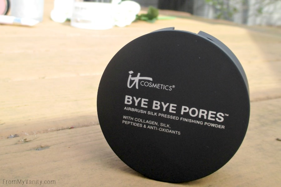 Pores, be gone with this Bye Bye Pores pressed powder! | IT Cosmetics QVC TSV, IT's Your Bye Bye Collection